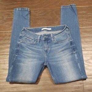 Women's Levi Denim Super Skinny Jeans